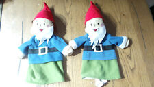 lot de 2 doudou marionnette poupée ikea