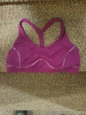 Lululemon Women Bra Medium Support Top Purple Size 12