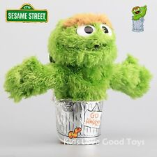 Sesame Street Plush Oscar the Grouch Hand Puppet Play Games Doll Toy Puppets New