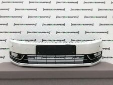 VW PASSAT TRENDLINE B8 2011-2014 FRONT BUMPER IN WHITE GENUINE [V596]