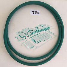 Par de cinturones de disco nuevo se adapta Vintage Bernina 730 piezas de repuestos de registro de máquina de coser