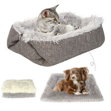 Pet Puppy Dog Cat Kitten Soft Warm Bed House Plush Nest Pad Mat Cushion Mattress