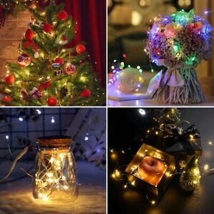 LED String Fairy Lights Curtain Window Lights Twinkle Christmas Party Wedding