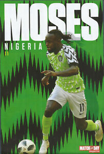 MOTD-POSTER 2017/18-NIGERIA & CHELSEA-VICTOR MOSES