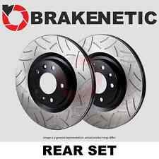 [REAR SET] BRAKENETIC PREMIUM GT SLOTTED Brake Disc Rotors w/BREMBO BNP42079.GT