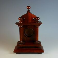 19TH C Carved Wood Watch Hutch or Holder
