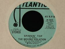 The Moving Violation-Spinnin' Top-1974 US PROMO Soul 45- NM-!