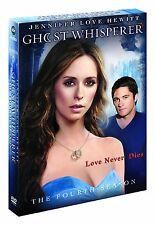 GHOST WHISPERER  - COMPLETE  SEASON 4 - DVD - UK Region 2 / sealed