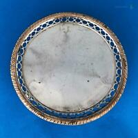 Early Period GEORGE III OLD SHEFFIELD PLATE CARD TRAY c1770 Ball Claw Feet