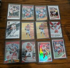 PATRICK MAHOMES ROOKIE AND SECOND YEAR SUPER LOT DONRUSS OPTIC SILVER 12 CARDS!
