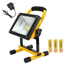 50W Portable Rechargeable Work Light LED Floodlight Spot Outdoor Camping Lamp