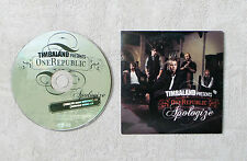 "CD AUDIO MUSIQUE INT / TIMBALAND PRESENTE ONE REPUBLIC ""APOLOGIZE"" CDS 2T 2007"