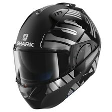 SHARK EVO ONE 2 HELMET - LITHION DUAL KUA- BLACK/CHROME