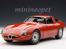 AUTOart 70196 1963 ALFA ROMEO GIULIA TZ 1/18 MODEL CAR RED
