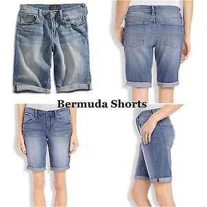 "Lucky Brand,Women's Denim Jean Shorts,""BERMUDA"""