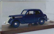 Brumm R65 FIAT 1100E Berlina HP35 Modello Diecast Auto CORPO BLU scuro 1949 1:43
