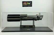 1995 Star Wars Icons Light Saber Skywalker #158 With Display Case Authentic