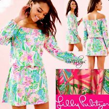 NWT Lilly Pulitzer Lana Skort Stretch Romper Pop Up Lilly of the Jungle size XL