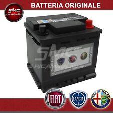 BATTERIA ORIGINALE FIAT LANCIA ALFA ROMEO 12V 50AH 350A POSITIVO DX 71751134