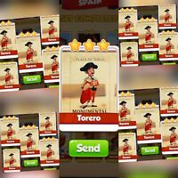 25x Torero ###  Coin Master Cards Fastest Delivery