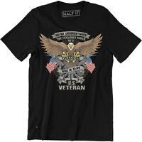 Never Underestimate The Tenacious Power Of Grandpa A US Veteran Patriotic Shirt
