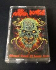 NUNSLAUGHTER / PAGANFIRE - Obcured Visions of Satanic Arson. Split Tape