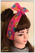 Russian Doll Headband Bandana Headscarf Hair Tie Band Bow Dress Hairband