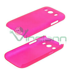 Pellicola+Custodia back cover FUCSIA per Samsung Galaxy Ace 4 G357 case rigida