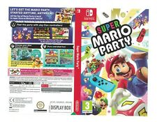 Nintendo Switch Mario Party promo Sleeve official shop display