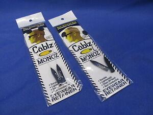 "2 Cablz Monoz Adjustable Eyewear Retainer 14"" Universal End"