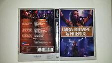 """INGA RUMPF & FRIENDS  At Rockpalast  DVD , """" Das Original """"  / Wie Neu"""