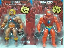 Masters of the Universe Origins He-Man & Beast Man Lot Mattel MOTU Classics New