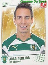 244 JOAO PEREIRA PORTUGAL SPORTING.CP Valencia CF STICKER FUTEBOL 2011 PANINI