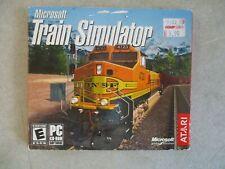 PC MICROSOFT TRAIN SIMULATOR 2002 MICROSOFT STUDIOS ATARI