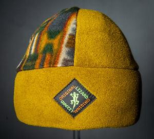 Beanie Fleece Outdoor & Ski Hat Unisex by Original Lizard - Olive