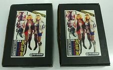 Rare 1/6 RACE QUEEN 2005 Blue, Red Silver and Black Leather Outfit Animie Manga