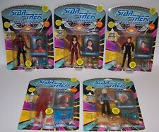Star Trek TNG Space The Final Frontier 5 Action Figures Collection 1993 NOC