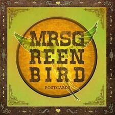 MRS.GREENBIRD - POSTCARDS, AUDIO-CD - NEU & OVP