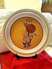 Vtg Ji Stonecrest Andre Ponche Serving Platter #236 Autumn Sun - Hand Painted