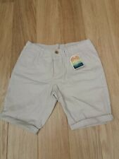 MEN'S BNWT CEDAR WOOD STATE STONE COLOURED SHORTS W34