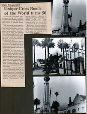 CROSS ROADS of the WORLD (Hollywood landmark: 50th article + my photos LA CONFID