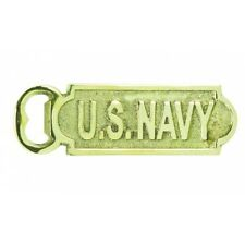 Soild Brass U.S. Navy Bottle Opener 5""