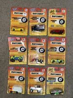 Matchbox Superfast LOT of 9 in original blister cards 1990s