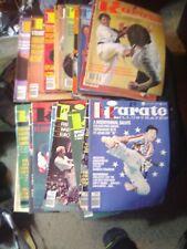 Lot Of 20-1970s Karate Illustrated Magazine martial Arts Kung Fu. Loook !