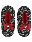 Justice Girl's SANTA SELFIE Cozy Slippers Size Extra Small 13-1 NWT