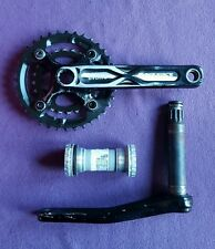 VGC Raceface Evolve xc crankset cranks chainset BB + shimano  2 x 10 rings