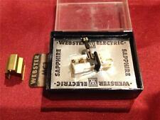 NOS Vintage Webster Electric MC3 Cartridge & Needle/Stylus Phono Record Player
