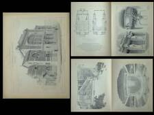 LILLE, THEATRE SEBASTOPOL - PLANCHES ARCHITECTURE 1905 - HAINEZ