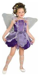 Kostüm Lila Elfe Fee Elfenkostüm Gr. 116 128 Faschingskostüm Mädchen