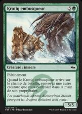 MTG Magic FRF FOIL - Ambush Krotiq/Krotiq embusqueur, French/VF